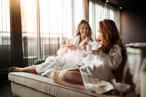 Wellness Spa Frauen Freundinnen