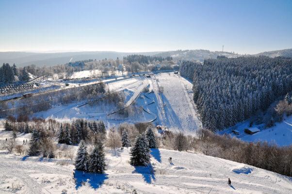 Winterberg Abfahrt Ski