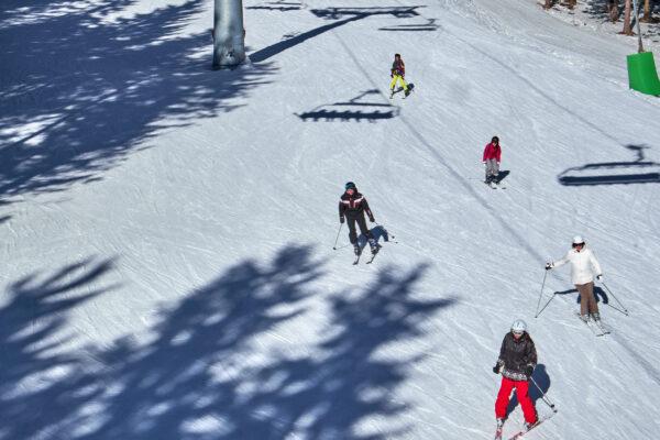 Winterberg Skifahrer