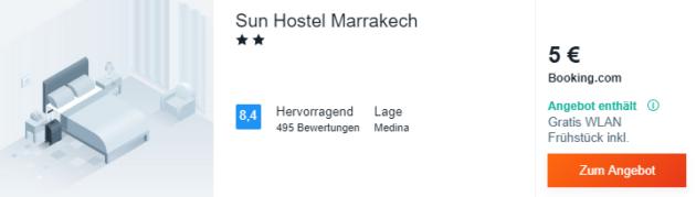 4 Tage Marrakesch