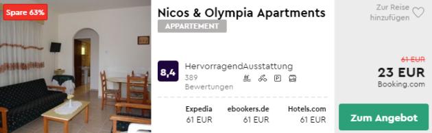 8 Tage Zypern Hotel