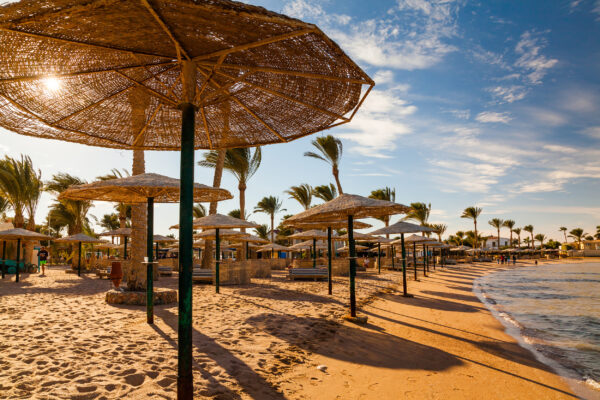 Aegypten Sonnenschirme