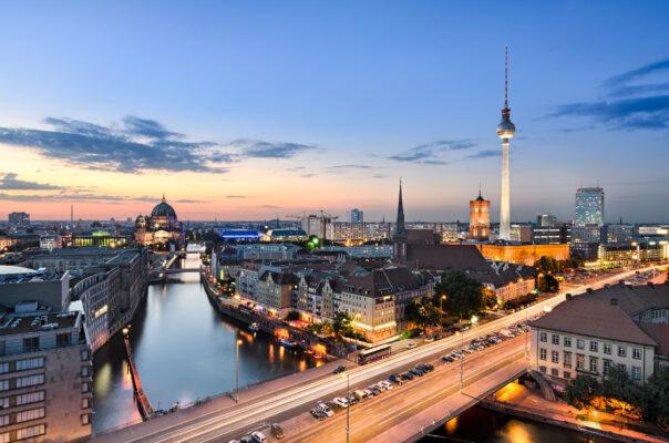 Berlin Fernsehturm Skyline