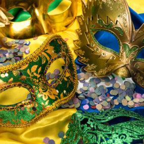 Brasilien Rio Masken