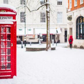 Winter-Wochenende in London: 3 Tage im 4* Hotel mit Flug nur 60€