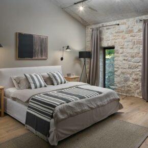 Ferienvilla Istrien Schlafzimmer
