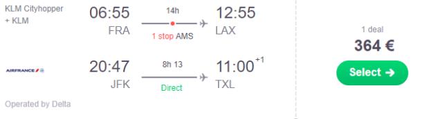 Frankfurt nach LAX