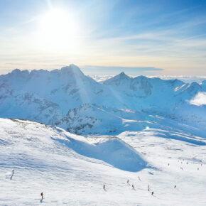 Frankreich Les Deux Alpes