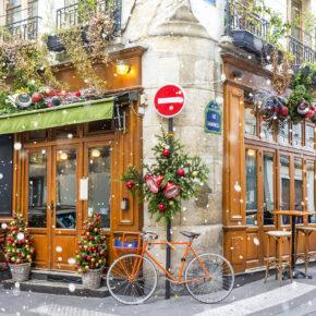 Frankreich Paris Cafe