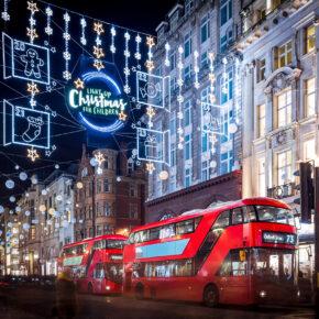 Weihnachtsshopping in London: 3 Tage übers Wochenende mit 4* Hotel & Flug nur 96€