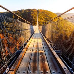 Wochenendtrip an die Mosel: 2 Tage nahe der Hängeseilbrücke Geierlay mit Unterkunft nur 27€