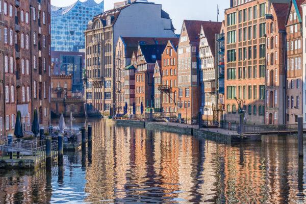 Hamburg Speicherstadt Kanal