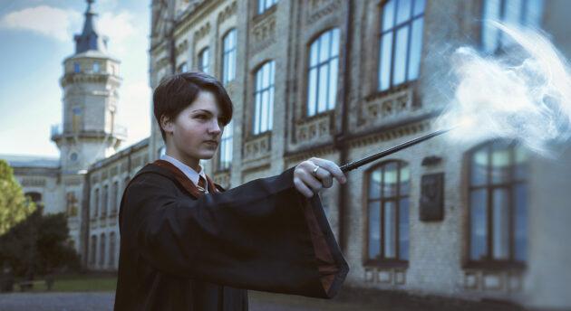 Harry Potter Zauberer Rauch