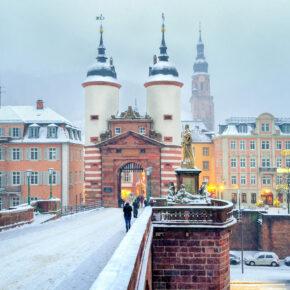 Heidelberg im Winter: 2 Tage am Wochenende ins TOP 3* Hotel nur 16€