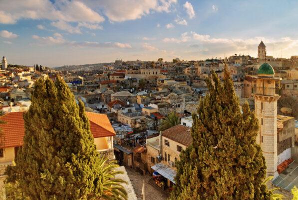 Israel Jerusalem Ausblick