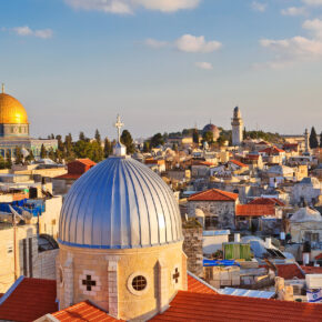 Von Tel Aviv bis Jerusalem: 8 Tage Rundreise durch Israel mit Hotels, Flug, Transfer, Zug & Reise-Highlights ab 999€