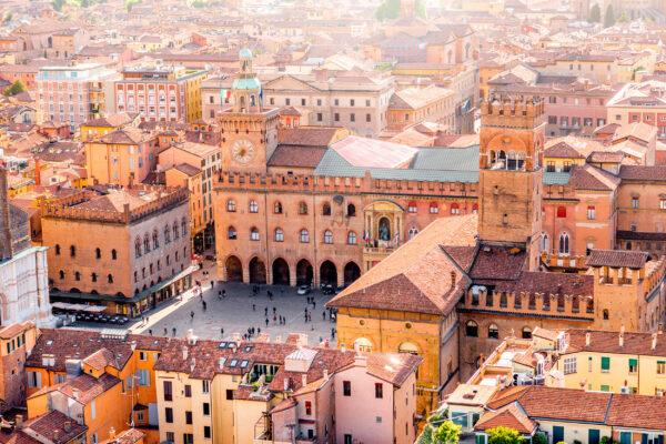 Italien Bologna Platz