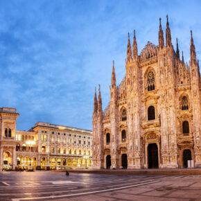 Städtetrip im Sommer: 3 Tage am Wochenende nach Mailand mit 4* Hotel, Frühstück & Flug ab 88€