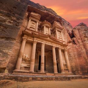 Jordanien Petra Tempel