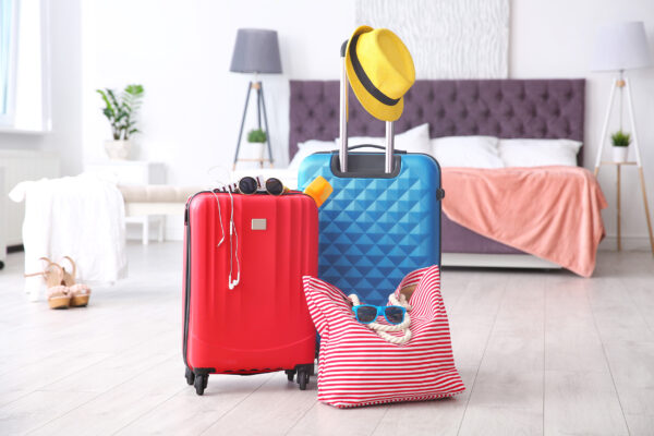 Koffer bunt