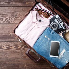 Koffer Holzboden