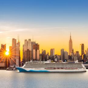 Kreuzfahrt Schiff New York