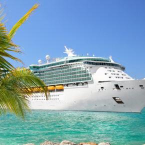 Kreuzfahrt Schiff Palmen
