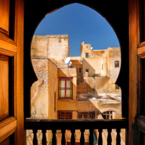Marokko: 4 Tage in Fès im 3* Hotel inklusive Frühstück & Flug für 57€