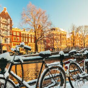 24h Sale! Amsterdam Kurztrip: 2 Tage über's Wochenende im TOP 4* Hotel inkl. Frühstück ab 32€