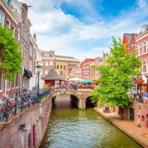 Neueröffnung: 2 Tage Utrecht im zentralen 4* Hotel mit Whirlpool im Zimmer & Frühstück ab 80€