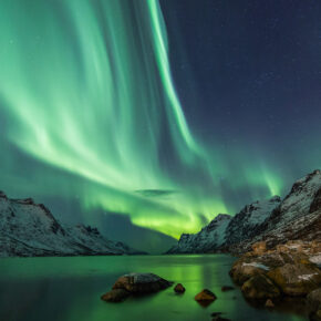 Aus dem Glasiglu Polarlichter beobachten: 2 Tage Finnland inkl. Frühstück nur 225€
