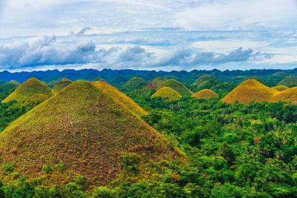 Philippinen Bohol Chocolate Hills