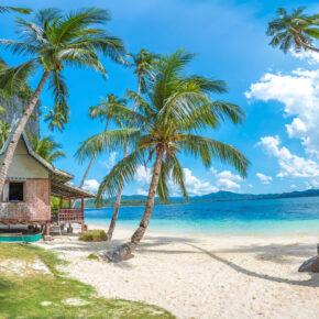 Traumurlaub Philippinen: 16 Tage auf der Insel Palawan mit Unterkunft & Flügen nur 537€