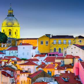 Kurztrip in die Hauptstadt Portugals: 3 Tage Lissabon mit zentralem TOP 4* Hotel & Flug nur 64€