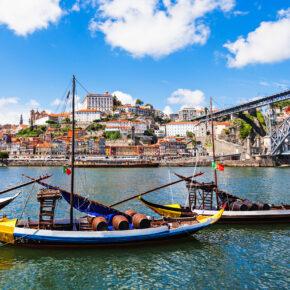 Kurztrip im Sommer: 3 Tage Porto in zentraler Unterkunft mit Flug nur 86€