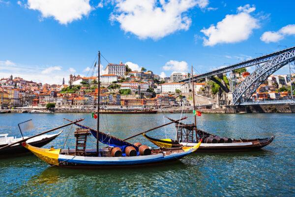 Portugal Porto Boote Altstadt