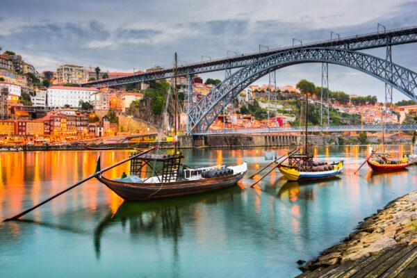 Portugal Porto Fluss Boote