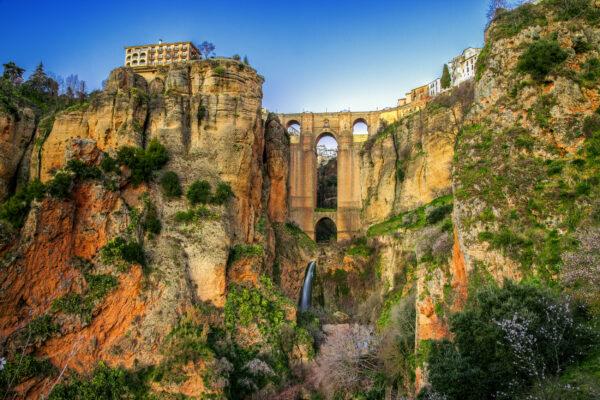 Spanien Andalusien Dorf