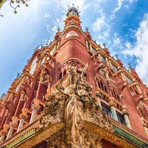 Städtetrip Barcelona: 3 Tage im zentralen TOP 4* Hotel inkl. Flug für 96€
