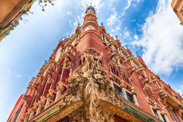 Spanien Barcelona Fassade