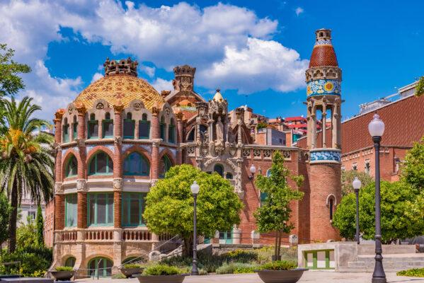 Spanien Barcelona Krankenhaus