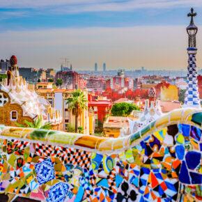 Wochenende in Barcelona: 3 Tage über's Wochenende im zentralen TOP 4* Hotel mit Flug nur 115€