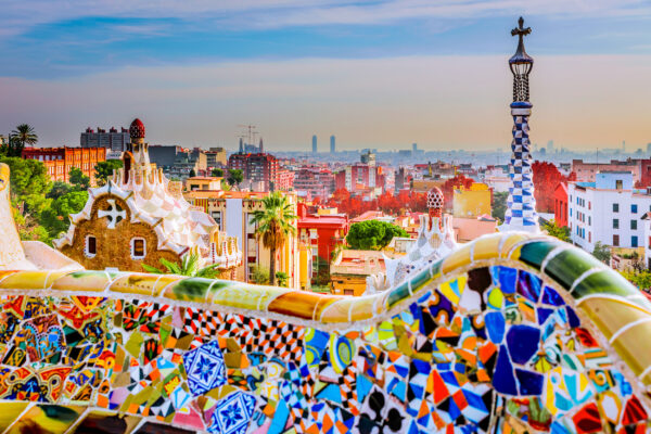 Spanien Barcelona Parc Guell