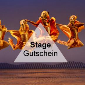 Stage Gutschein: Spart 15€ auf Euer nächstes Musical