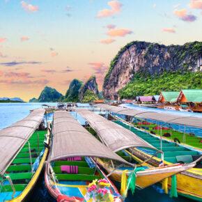 2021 nach Thailand: Flüge nach Bangkok hin & zurück mit Gepäck nur 377€
