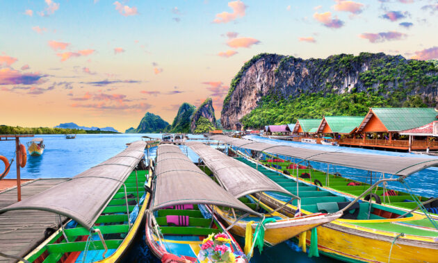Thailand Phuket Boote