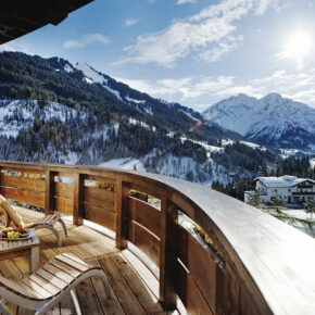 Travel Charme Ifen Hotel Balkon