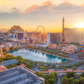 Vegas Baby: 6 Tage in der Partymetropole inklusive 3* Hotel & Direktflug nur 486€
