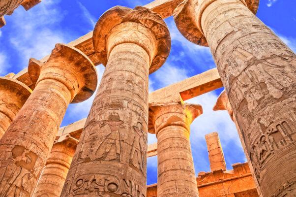 Ägypten Luxor Karnak Tempel