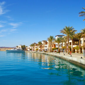 Luxus: 7 Tage Ägypten im TOP 5* AWARD Hotel mit All Inclusive, Flug, Transfer & Zug nur 536€